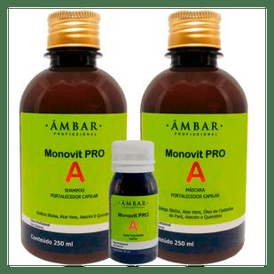 AMBAR-KIT-MASCARA-MONOVIT-PRO-A-250-SH-MONOVIT-PRO-A-250-AMPOLA-MONOVIT-PRO-A30ML