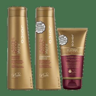 Joico-K-PAK-Color-Therapy-Shampoo-300ml-Condicionador-300ml---Luster-Lock-Mascara-140ml
