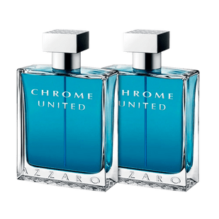 Azzaro-Kit-Chrome-United-Eau-de-Toilette---Perfume-Masculino-2-x-30ml