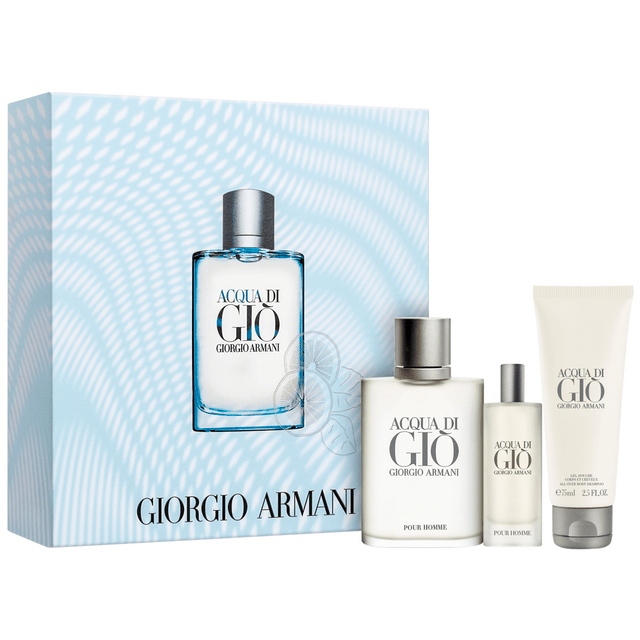 Giorgio-Armani-Kit-Perfume-Acqua-Gio-Pour-Homme-Edt-100ml-Travel-Size-15ml-e-Gel-de-Banho-75ml