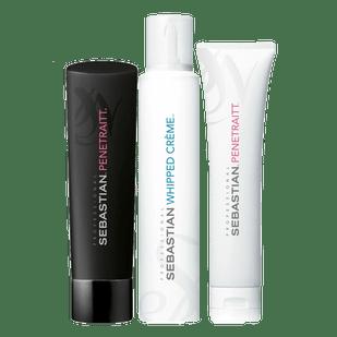 Kit-Sebastian-Penetraitt-Shampoo-205ml---Mascara-150ml---Whipped-Creme-150ml
