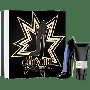 Carolina-Herrera-Kit-Good-Girl-Eau-de-Parfum---Perfume-80ml---Locao-Corporal-100ml