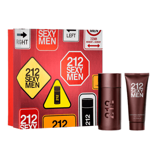 Carolina-Herrera-Kit-212-Sexy-Men---Eau-de-Toilette-100ml---Locao-Corporal-100ml