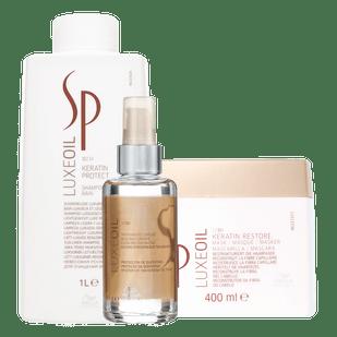 Kit-Luxe-Oil-Shampoo-1000ml--Mascara-400ml--Tratamento-Capilar