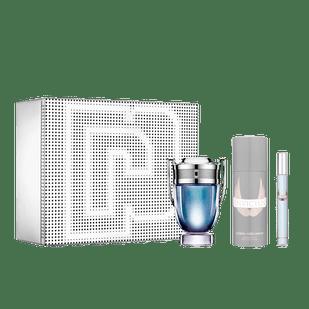Paco-Rabanne-Kit-Invictus-Eau-de-Toilette---Perfume-Masculino-100ml---Desodorante-150ml---Travel-Spray-10ml