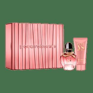 Paco-Rabanne-Conjunto-Pure-XS-For-Her-Feminino---Eau-de-Parfum-80ml---Locao-Corporal-100ml