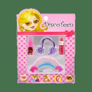 Disco-Teen-Rock-in-Roll----Estojo-de--Maquiagem-Infantil