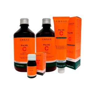 Kit-Monovit-PRO-Vita-C-Ampola-30ml---Shampoo-500ml---Mascara-500ml---Creme-de-Pentear-120g