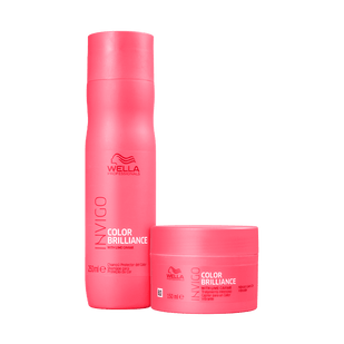 Wella-Kit-Brilliance-Invigo-Shampoo-250ml---Mascara-Capilar-150ml
