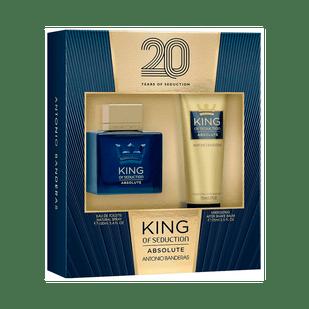 Antonio-Banderas-Kit-King-of-Seduction-Absolute-100ml---Pos-barba-75ml