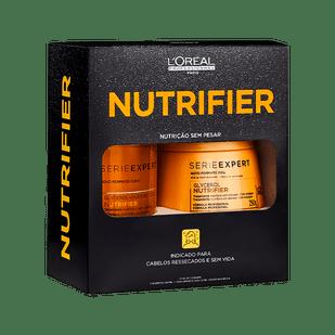 LOreal-Professionnel-Kit-Serie-Expert-Nutrifier---Shampoo-300ml---Mascara-Capilar-250g