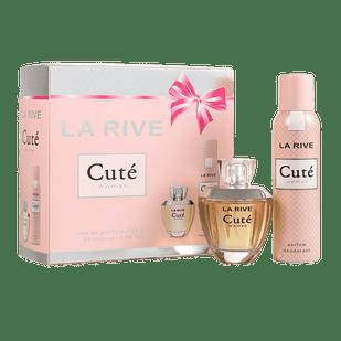 La-Rive-Kit-Cute-100ml---Desodorante-150ml