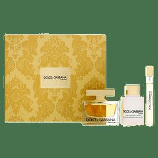 Dolce---Gabbana-Kit-The-One-Eau-de-Parfum-75ml---Body-Lotion-100ml---Travel-Size-10ml