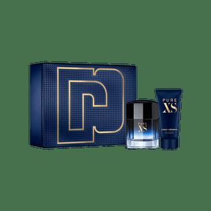 Paco-Rabanne-Kit-Pure-XS-Eau-de-Toilette-100ml---Gel-de-Banho-100ml