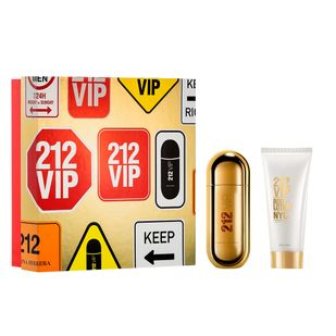 Carolina-Herrera-212-VIP-kit---Eau-de-Parfum-80ml---Body-Lotion-100ml