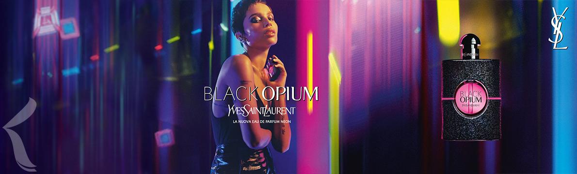 Yves Saint Laurent   Black Opium Neon Eau de Parfum   Nova Fragrância 🌆