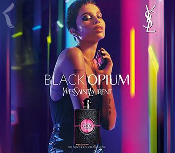 Yves Saint Laurrent   Black Opium Neon Eau de Parfum   Nova Fragrância 🌆