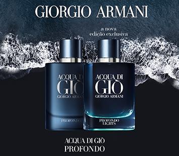 Giorgio Armani   Acqua di Giò Profondo Lights   Nova Fragrância 🌊