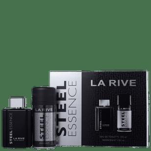 La-Rive-Kit-Steel-Essence-Masculino---Eau-de-Toilette-100ml---Desodorante-150ml