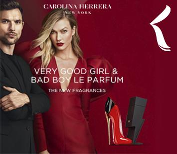 Carolina Herrera   Bad Boy Le Parfum e Very Good Girl   Novas Fragrâncias ⚡👠