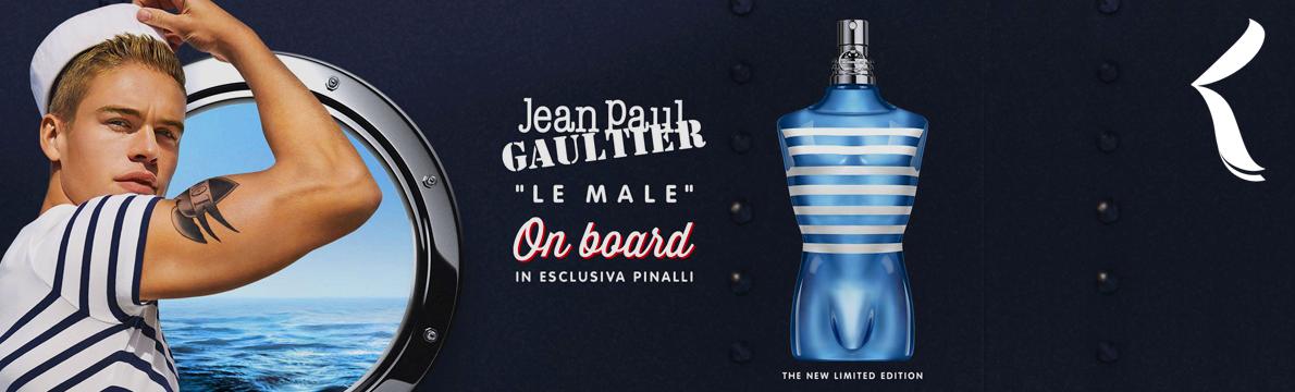 Jean Paul Gaultier   Le Male On Board Eau de Toilette   Nova Fragrância ⚓
