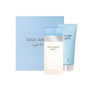 Dolce---Gabbana-Light-Blue-Kit---Eau-de-Toilette-100ml---Body-Lotion-75ml