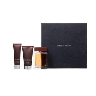 Dolce---Gabbana-The-One-For-Man-Kit---Eau-de-Toilette-100ml---Body-Lotion-50ml---Shower-Gel-50ml
