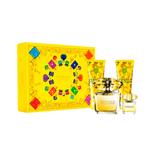 Versace-Kit-Yellow-Diamond--Eau-de-Toilette-90ml---Miniatura-5ml---Locao-Corporal-100ml---Gel-de-Banho-100ml