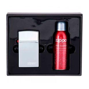 Zippo-Fragrances-Original-Kit---Eau-de-Toilette-30ml---Gel-de-Banho-100ml