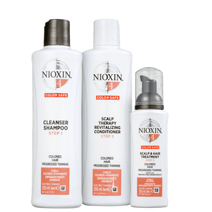 Nioxin-Kit-System-4-Shampoo-30ml---Condicionador-300ml---Tratamento-de-Couro-Cabeludo-100ml